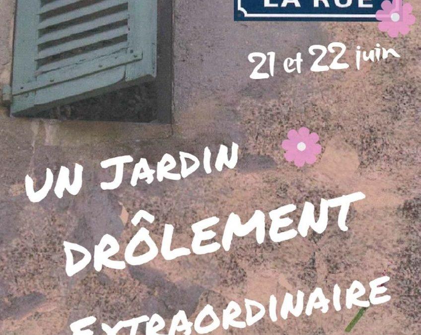 Manifestation «L'ART DANS LA RUE», les 21 et 22 juin 2019