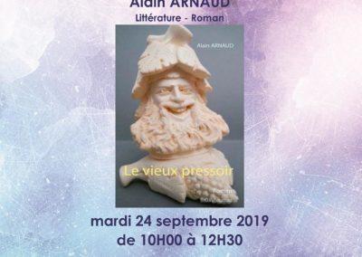Dédicace à la Presse de GAREOULT le 24/09/2019