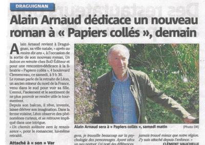 Article VAR-MATIN Draguignan de Clément VAUCHELLE du 27 août 2021